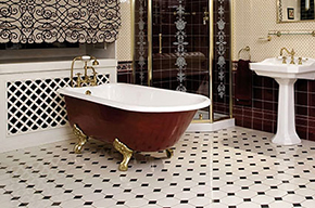 victorian tile bathroom